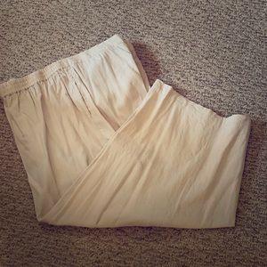 Coldwater Creek Linen pants